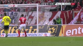 [2012/2013]  Mainz 05 vs Borussia Dortmund