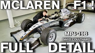 FULL DETAIL Formula 1 McLaren MP4-19B Race Car