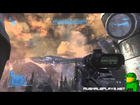 """Halo: Reach - Highlands HD Gameplay """"Defiant Map Pack"""" [Download Video]"""