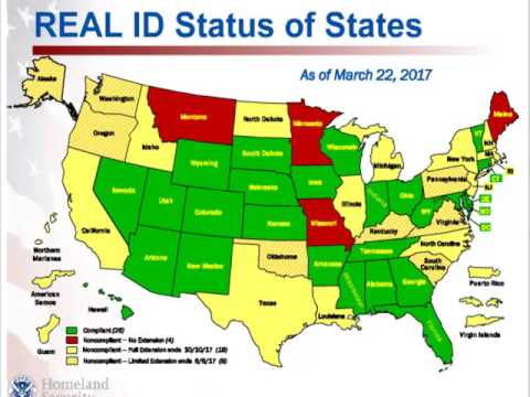 Webinar | State Compliance with REAL ID: An Update from DHS