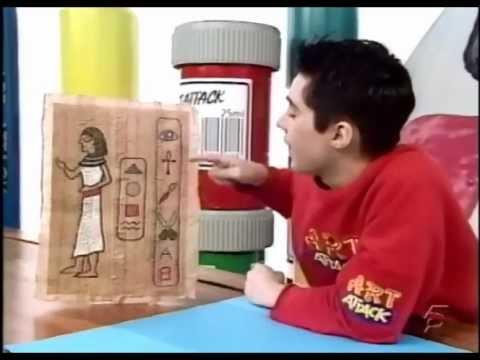 Papiro art attack youtube - Videos de art attack manualidades ...