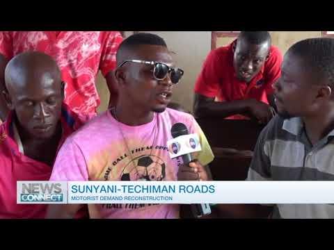 Drivers demand improvement of Techiman-Sunyani road