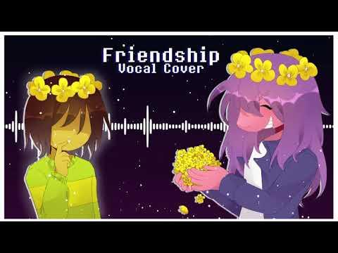 DELTARUNE Friendship [Duet] [Original Lyrics]【reichuu x cham】