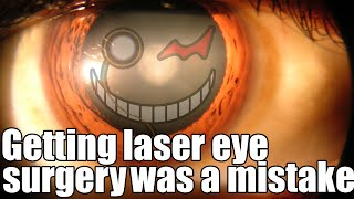 Getting laser eye surgery was a mistake ~ By Manen_Lyset ~ Sir Ayme