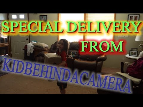 SPECIAL DELIVERY FROM KIDBEHINDACAMERA!