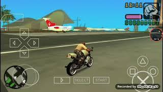 empinado de moto no GTA!