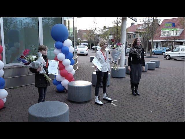 Uitreiking jeugdlintjes in Heemskerk 2020