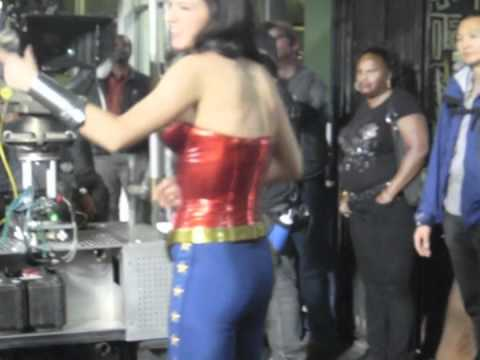 Wonder Woman Filming in Hollywood - Day 2