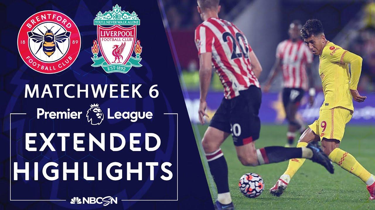 Brentford v. Liverpool | PREMIER LEAGUE HIGHLIGHTS | 9/25/2021 | NBC Sports