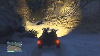 Coche Oculto en GTA V Online 1.11 - coches ocultos en gta 5 online