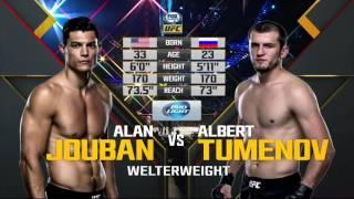 Albert Tumenov VS Alan Joban, UFC 192