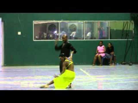 David Show Dance At Jwaneng Mining Town