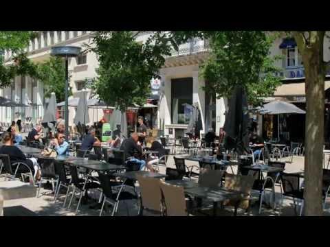 Poitiers, la ville aux terrasses