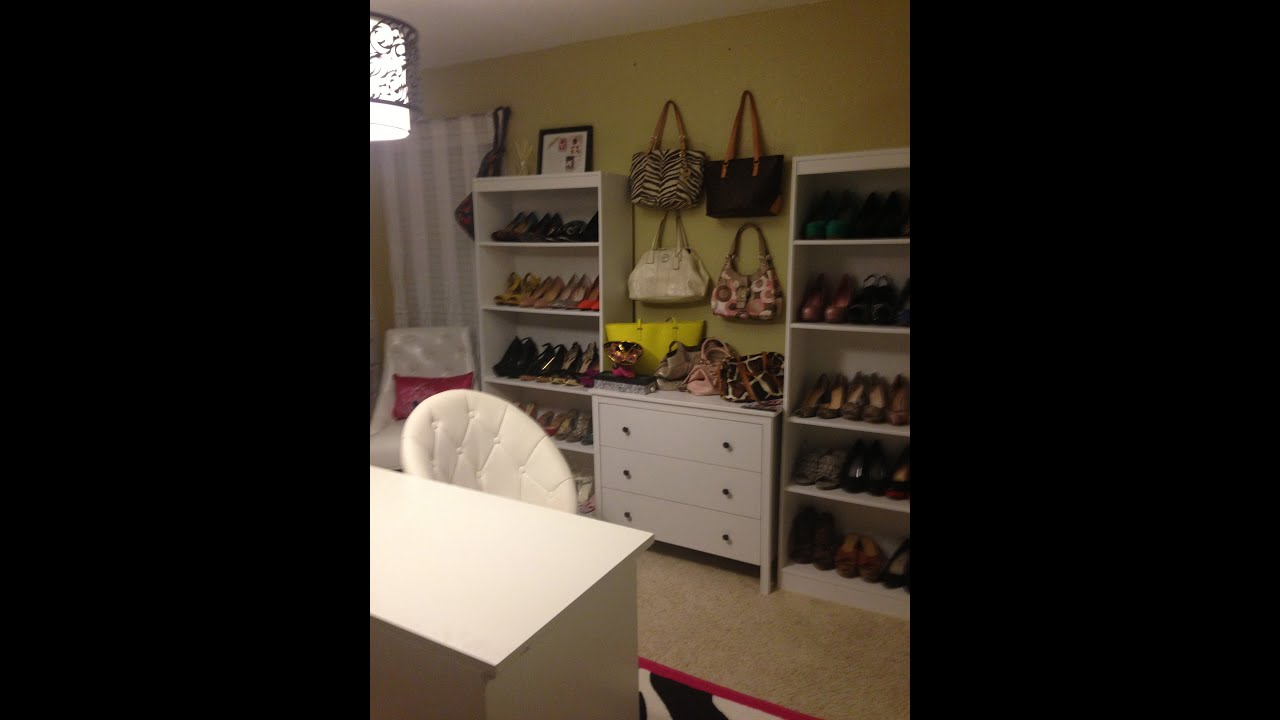 Closet fice Room Tour and INFO