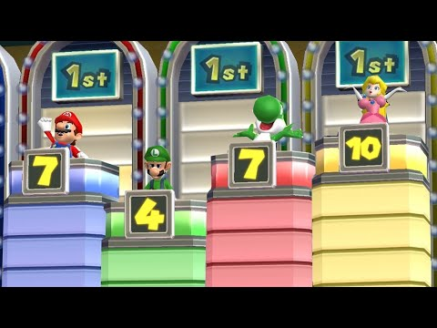 Mario Party 9 - All Free For All Minigames