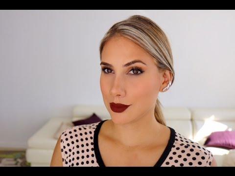 Un maquillaje, dos opciones - Carolina Ortiz