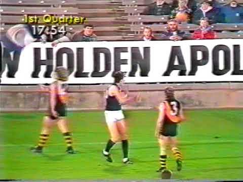 1989 Round 19 Richmond Vs Carlton VFL Park 19 mins Channel 7