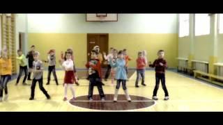 Флешмоб 2 класс Гимназия г.Пружаны конкурс