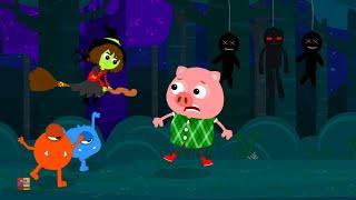 Đêm Halloween Của Nó   Halloween Bài Hát   Nhạc Trẻ Em   Its Halloween Night   Halloween Music