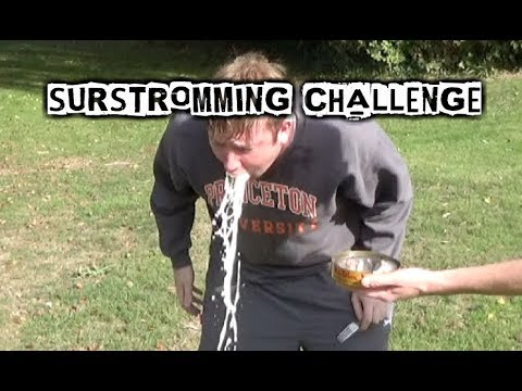 Surströmming Challenge | DISGUSTING STINKY FISH