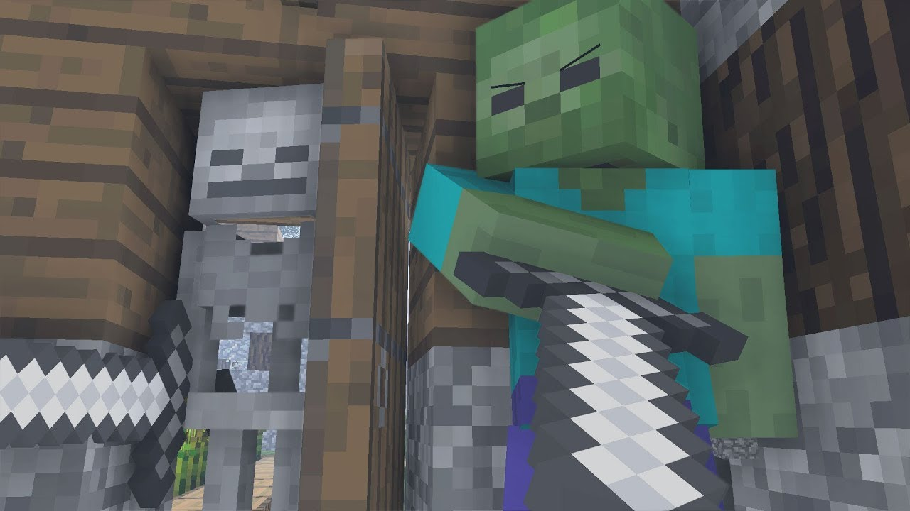 Zombie Life 5 Minecraft Animation Youtube