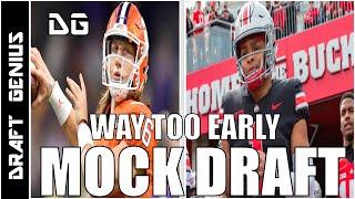2021 NFL Draft: Way Too Early Mock Draft
