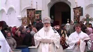 Праздник Крещения Господнего в Нежине 2012(, 2012-01-19T18:52:23.000Z)