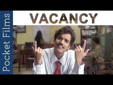 Hindi Comedy Short Film - Vacancy | This interview might become your reality | Funny Interview