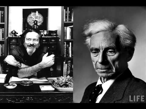 Alan Watts Interviewing Bertrand Russell Part 1 Of 4