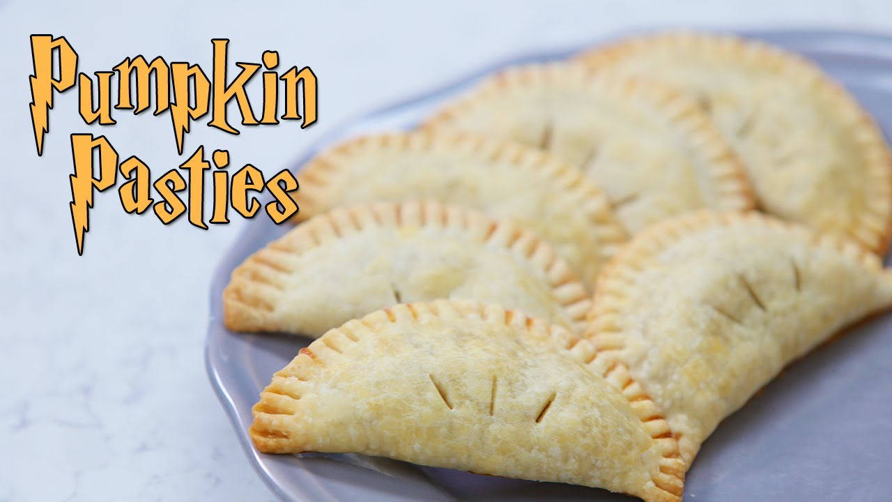 HARRY POTTER PUMPKIN PASTIES ft Dawin - NERDY NUMMIES - YouTube