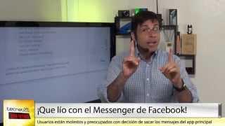 TECNÉTICO EN VIVO (segmento): ¿Qué es lo que está pasando con Facebook Messenger? Aquí te explicamos