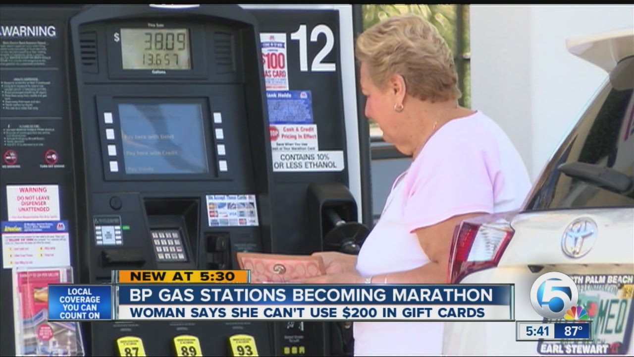 BP gas stations becoming marathon