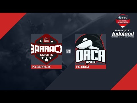 ESL Indonesia Championship – Dota 2: Matchday #9 (PG.BARRACX vs PG.ORCA; AURA vs EVOS)