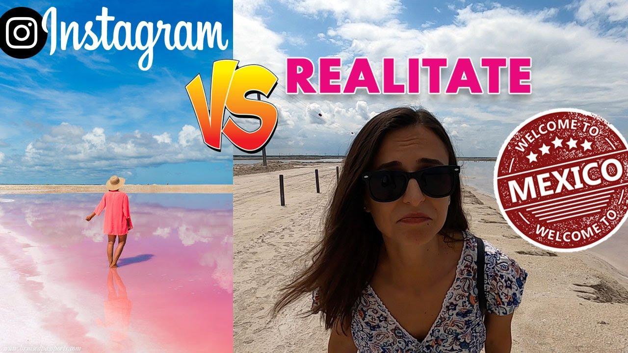MIRAJUL pozelor de pe Instagram! DEZAMAGITI in Las Coloradas, Mexic