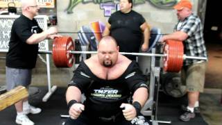 SuperTraining.TV: Max Bench 3-3-2011 EXTENDED