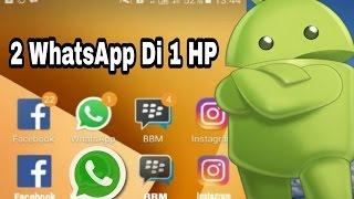 Cara Menggunakan 2 Whatsapp,Instagram,Facebook Dan Bbm Di 1 Hp