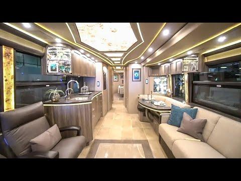 A Detailed Look Inside A 2.5 Million Dollar Prevost Motorhome - 2020 Marathon Coach