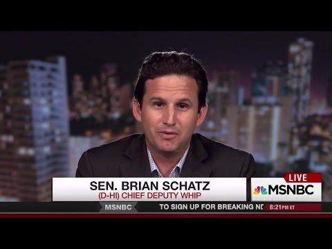 MSNBC: Sen. Schatz on Trump Threats to ACA Subsidies