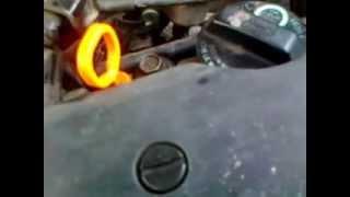 стук Honda Civic VII 1,5 D15B vteс 2000 год газ/бензин