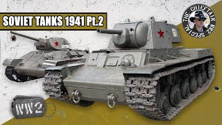 Tanks of the Red Army in 1941: Medium and Heavy Tanks, by the Chieftain - WW2 Special