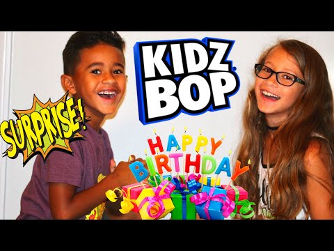 Awesome Birthday Surprise! KIDZ BOP WORLD TOUR OMG! So much fun and great music!