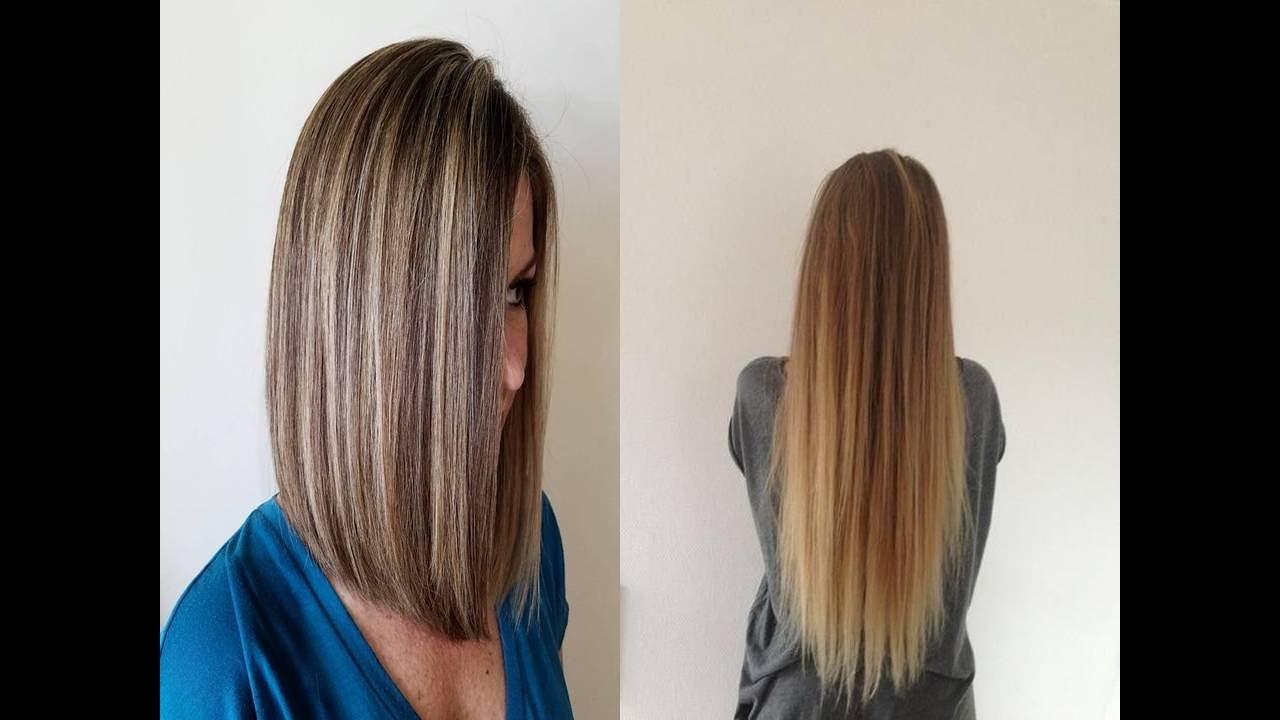 Caramel Brown Hair Color For Long Straight Hair Youtube