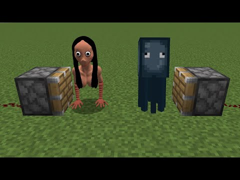WHAT If MOMO + SQUID In MINECRAFT = ???