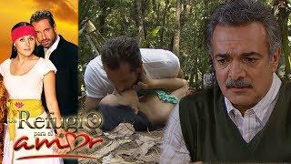 Un refugio para el amor - Capitulo 44 Claudio se entera que Luciana se caso con Rodrigo T ...