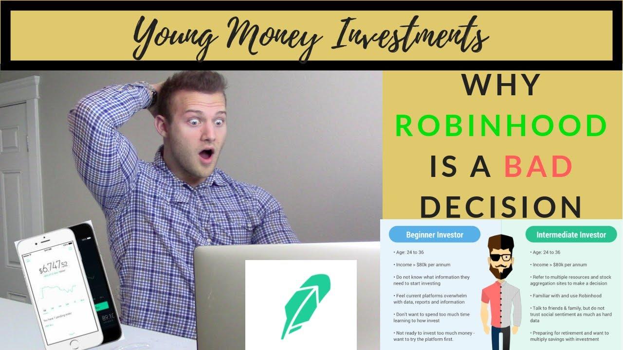 Why You Lose Money With Robinhood I What I Wish I Knew ...