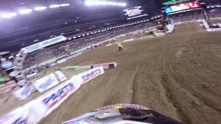 GoPro HD: James Stewart Main Event 2014 Monster Energy Supercross from Indianapolis
