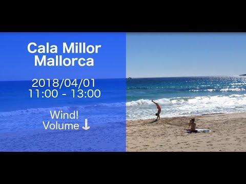 Mallorca - Cala Millor Beach 2018/04/01 11:00