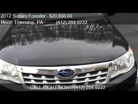 2012 Subaru Forester 2.5X AWD 4dr Wagon 4A for sale in ...