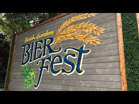 Nick Wize -  Bier Fest Returns To Busch Gardens Tampa Bay