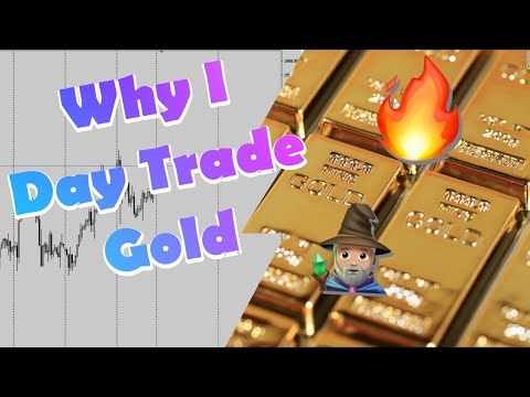 Why I Only Day Trade Gold (XAUUSD)